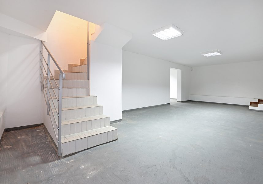 Stairs To Empty Storage Room in Basement